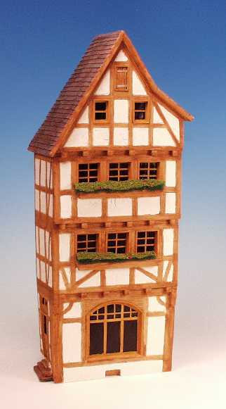 EH.1 - German Half timbered, 3 story