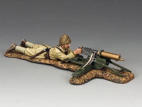 AL068 - Lying Prone Turkish Machine Gunner