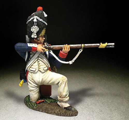 36178 - French Imperial Guard 1st Rank Kneeling Firing