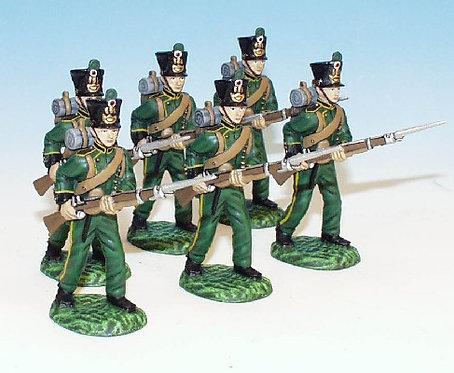 NLI.7. - 6 Advancing - Nassau Army