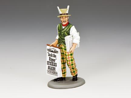 "WoD057 - ""JACK THE RIPPER STRIKES AGAIN!"" Newspaper Seller"