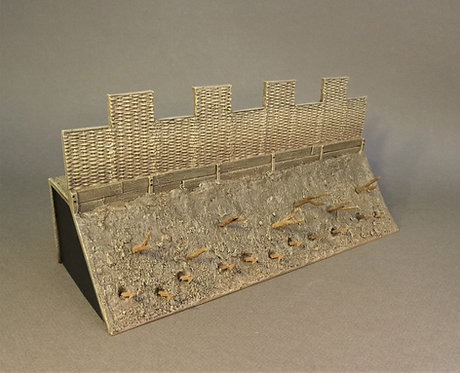 RRFORT-04 - Straight Wall Section, the Roman Army of the Late Republic
