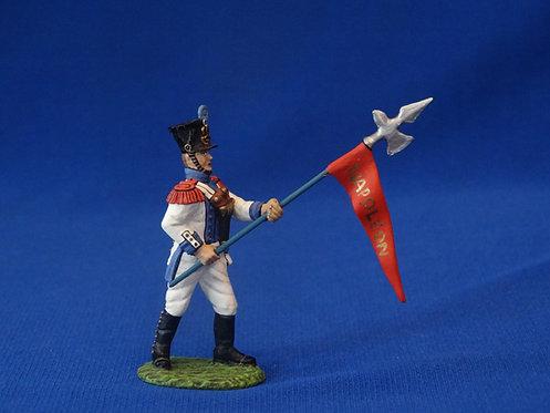 COAG-599 Westphalian Regiment Emperor's Colors - Frontline - Napoleonic - 54mm