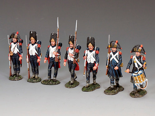 """NA-S05 - """"The 'Old Guard' Marching Set"""" (7-figure set)"""