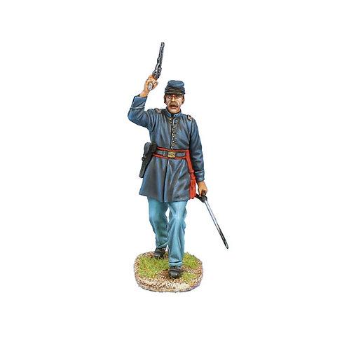 ACW101 - Union Lieutenant with Revolver