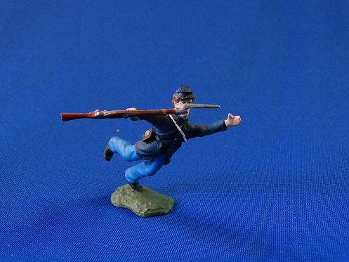 CORD-0421-Union Infantry Casualty - Unknown Manufacturer - ACW - 54mm Metal