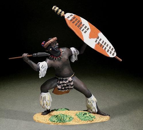 20198 - Zulu Defending with Spear uDloko Regiment