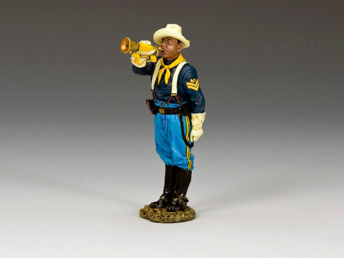 TRW117 - Buffalo Soldiers Sergeant with Guidon