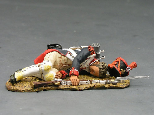 NA109 - French Line Infantry Lying Casualty