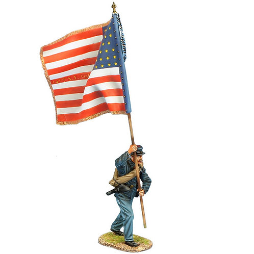 ACW115 - Union Sergeant Standard Bearer - 147th NY Vols