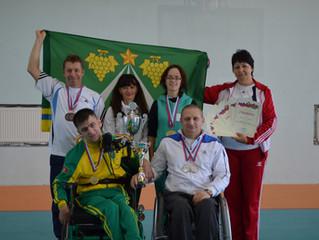Спартакиада инвалидов Кубани 2016