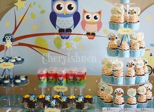 Candy Station - Owl..., it's a boy!