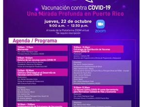 Foro Vacunación contra Covid -19: Una Mirada Profunda en Puerto Rico