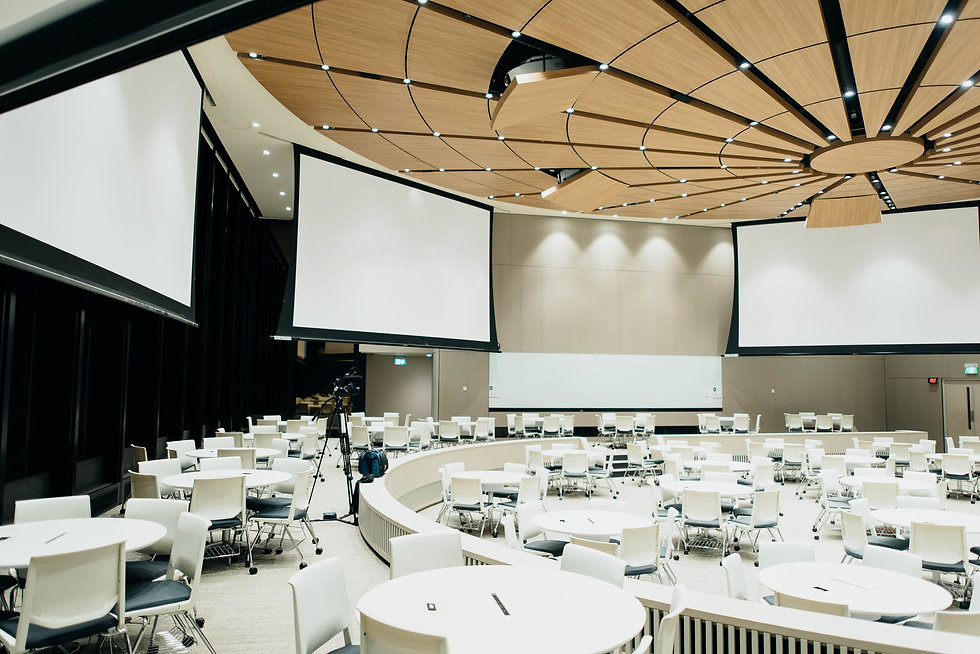 Conference-Hall-Projector-Real-World-Moc