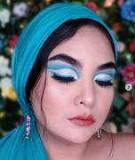teal makeup challenge