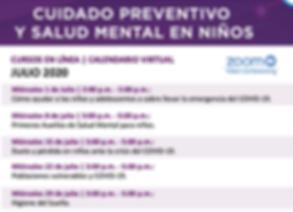 Webinar Program - Cuidado Preventivo y S