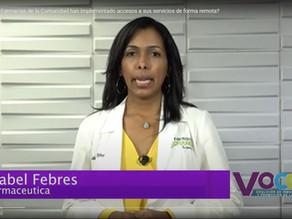 ¿Sabías que las Farmacias de la Comunidad tienen diferentes vías para ofrecer sus servicios remoto?
