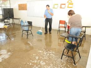 Cómo limpiar y desinfectar las escuelas para ayudar a disminuir la propagación de la influenza