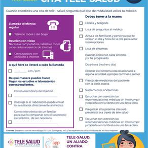¿Tienes tu lista de Cotejo para Tu cita de Tele Salud?
