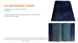 LZ A4 Notebook cover