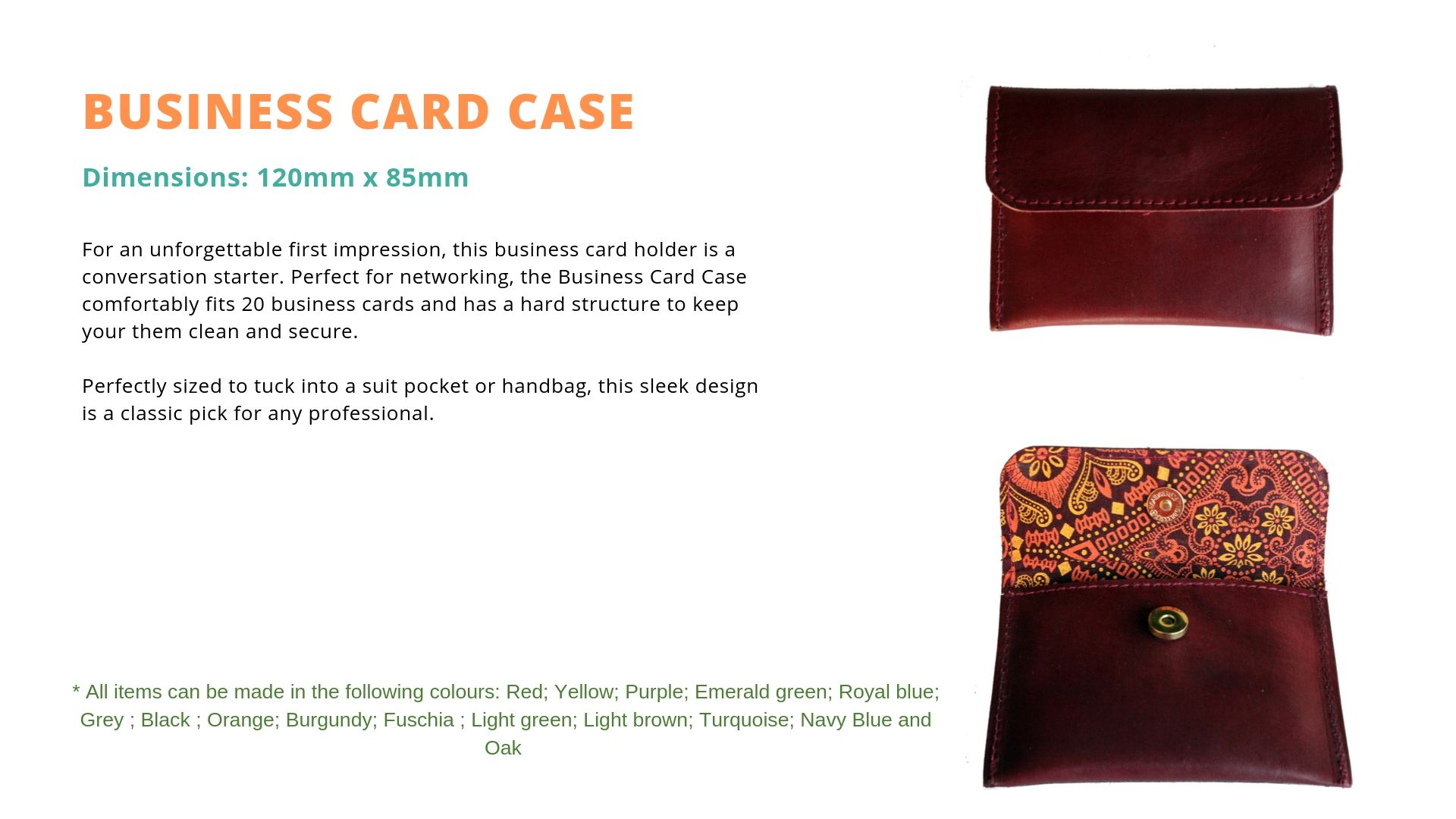 LZ Business card case