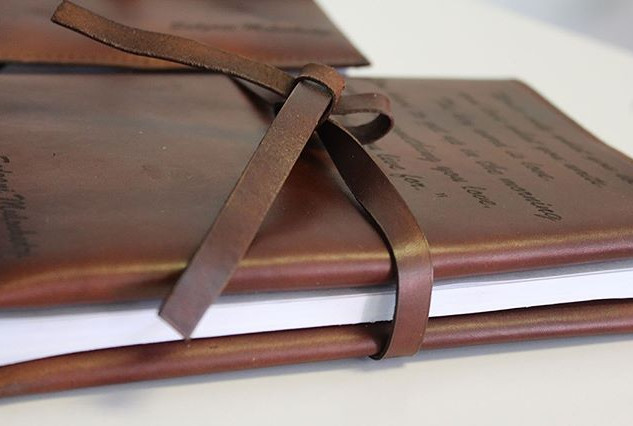 Customised diaries and journals to keep