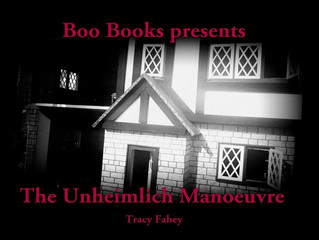 The Unheimlich Manoeuvre - my first short story collection!