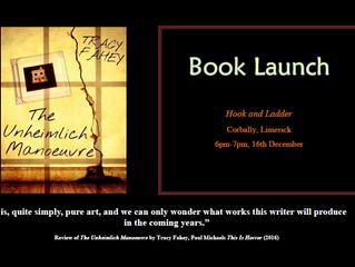 Irish book launch for The Unheimlich Manoeuvre