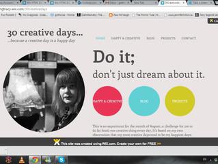 Creative August