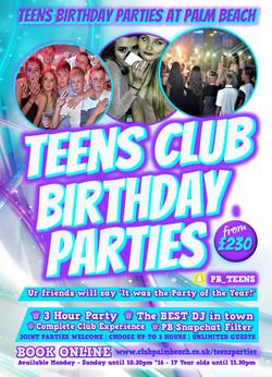 teens flyer