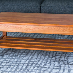 Cherry Mission Inspired Coffee Table