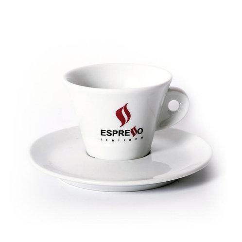 Lot de 6 tasses Cappucino avec logo