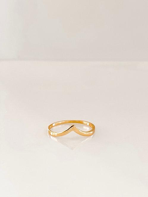 peak ring - gold