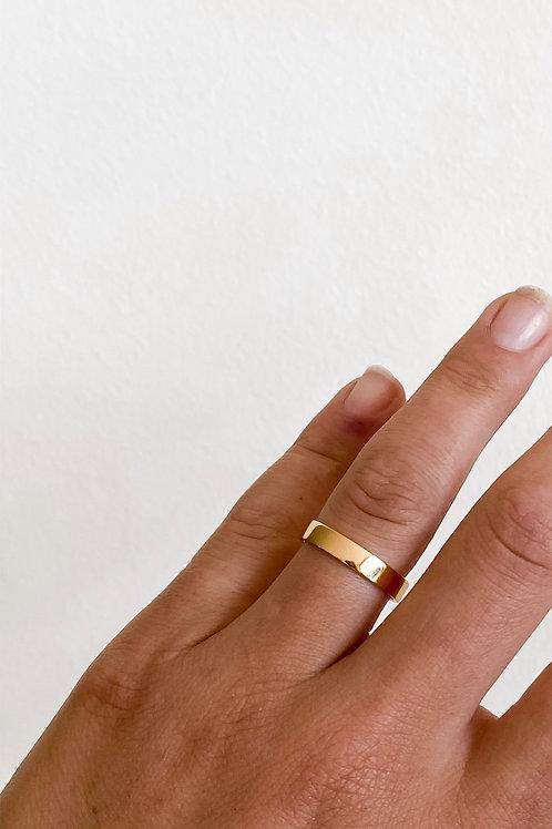 band ring - gold