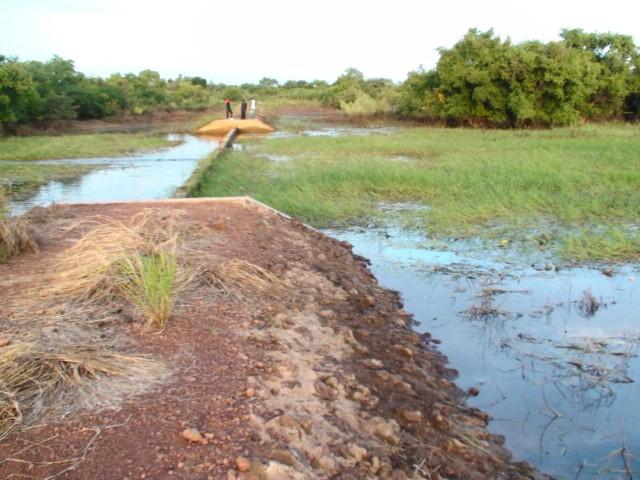 Retenue colinéaire Garawal
