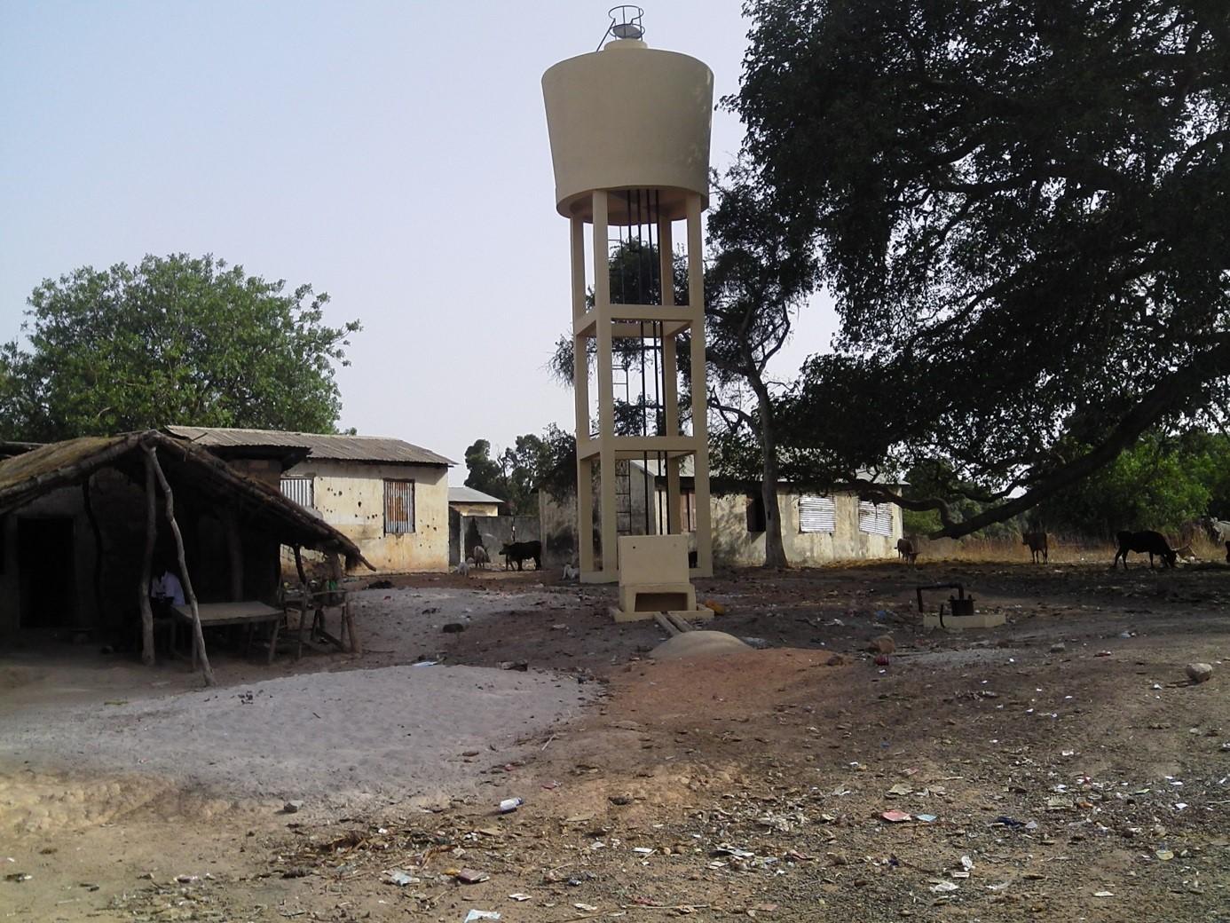 Château d'eau en Guinée