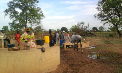 Forage à Linkering au Sénégal