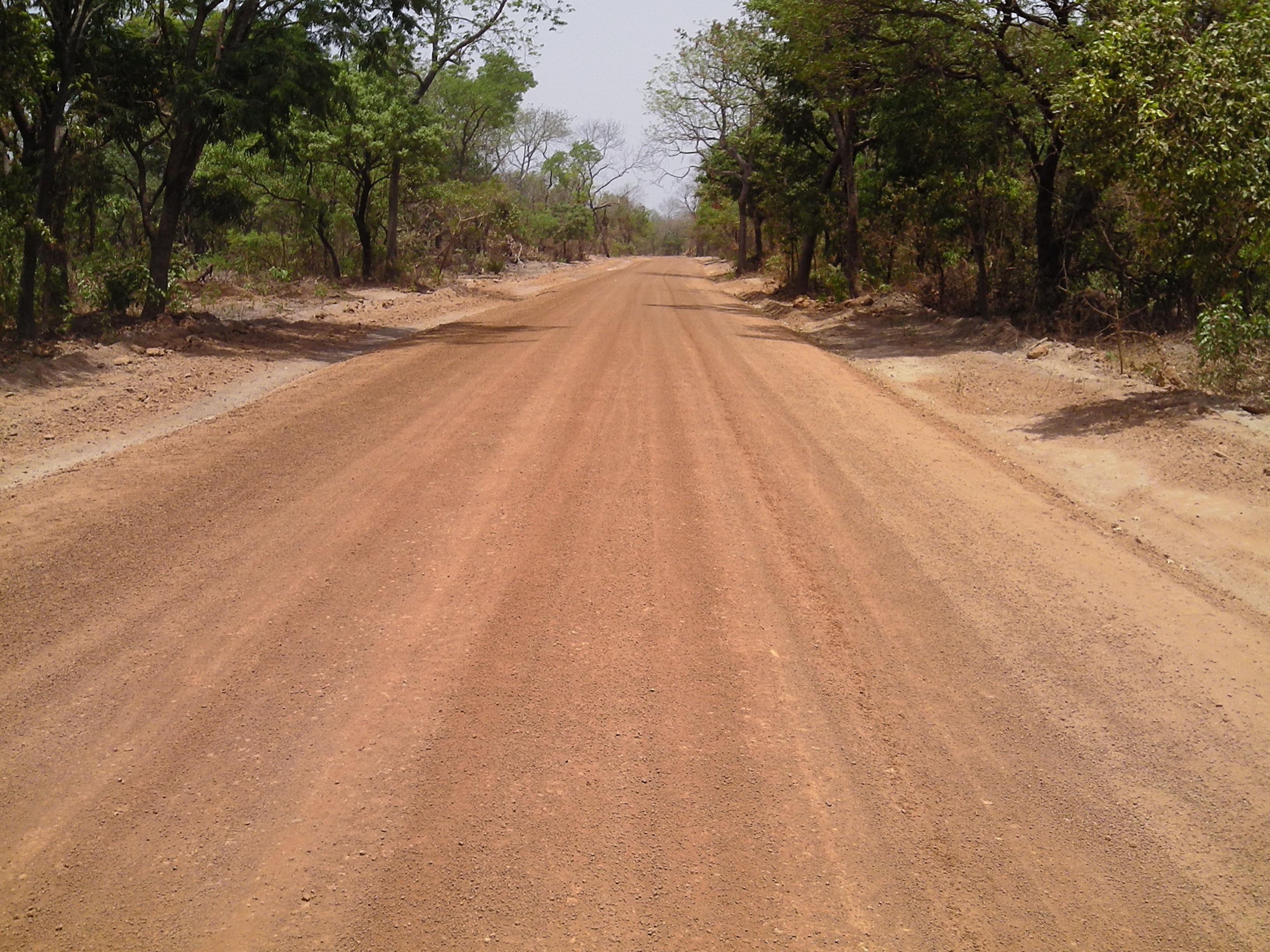 Piste Pitche (Guinée Bissau)-Foulamory (Guinée)