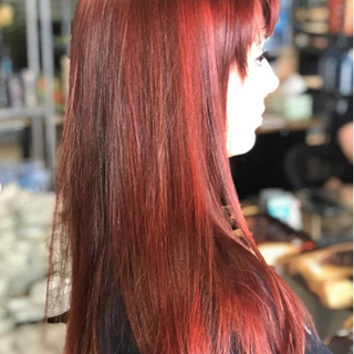 Partial highlight with a Red Violet color overlay on Catherine today