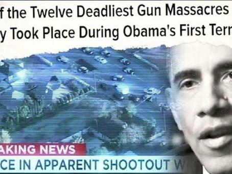 48 vụ xả súng kinh hoàng dưới thời Barack Obama từ năm 2009-2016.
