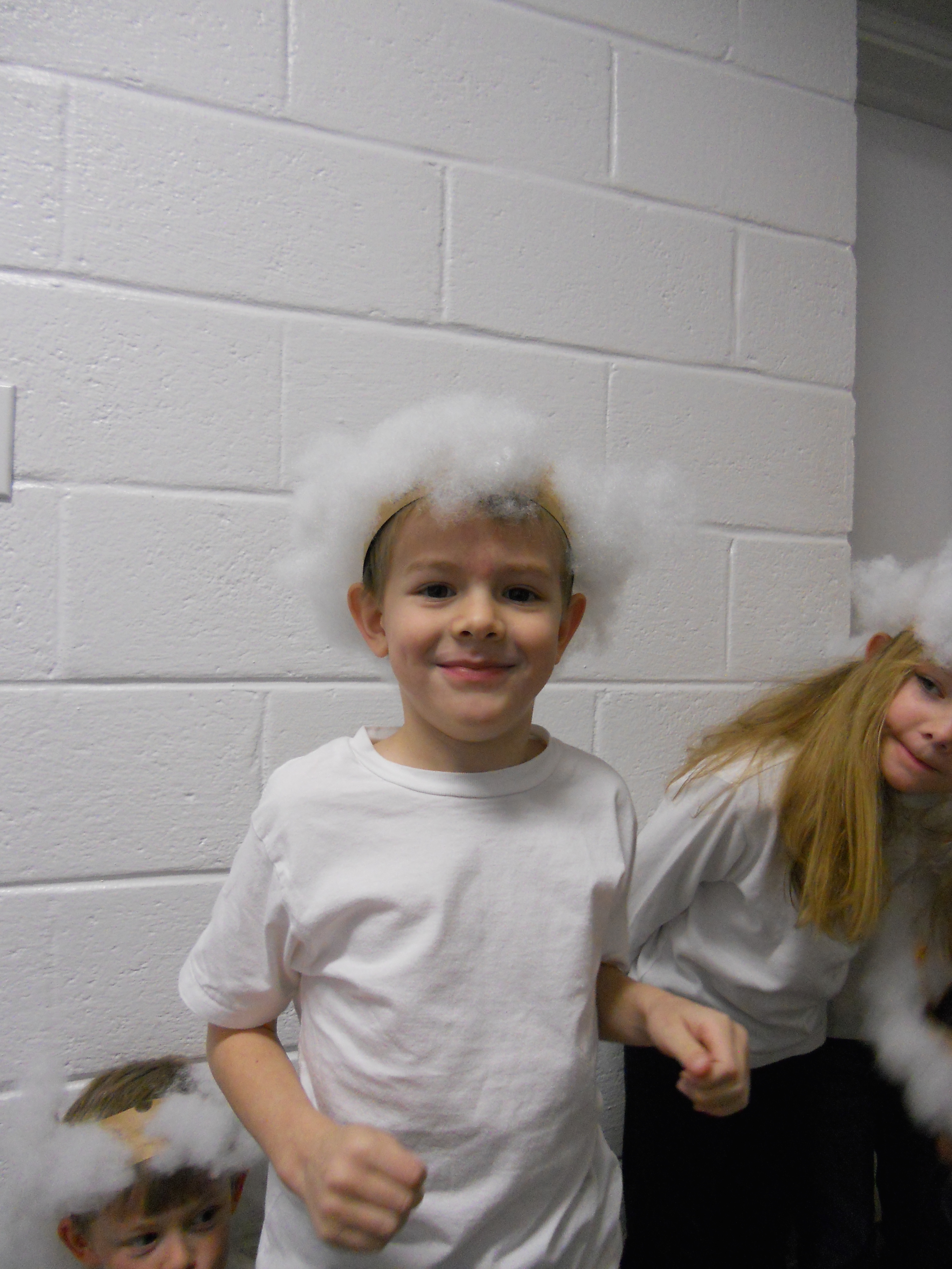 Our Cherub Choir were sheep!
