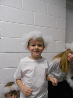 Our Cherub Choir were sheep!