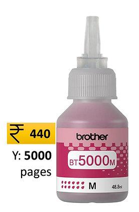Brother Ink Bottle BT 5000M Magenta