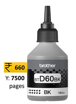 Brother Ink D60 Black