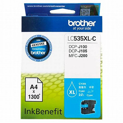 Brother LC535xl Ink Cartridge Cyan