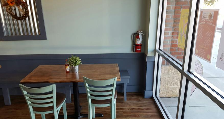 Window Table - Buildout Pro's