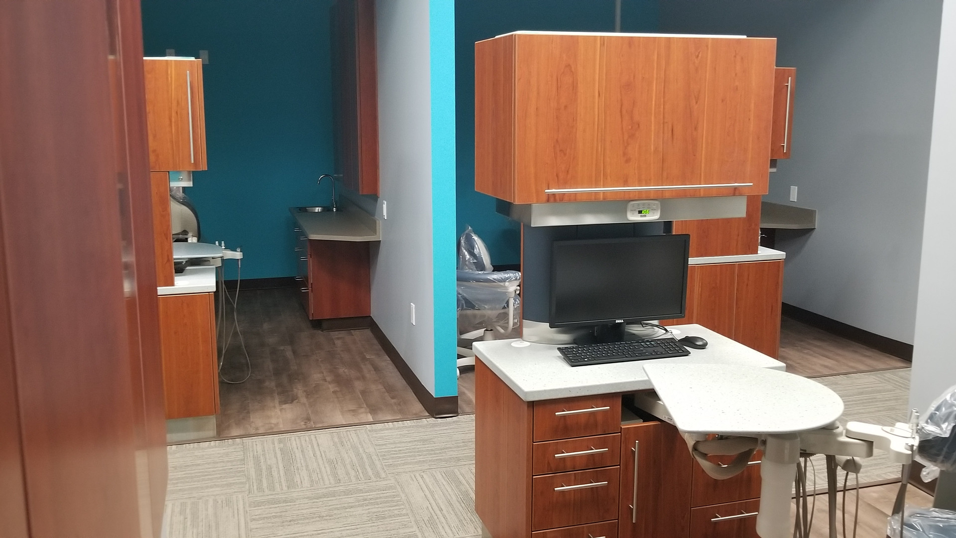 View from Dental Room - Buildout Pros