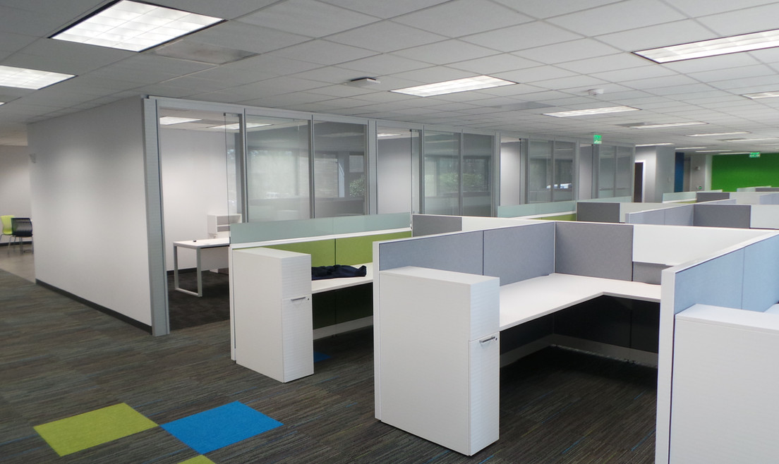 Personal Office and Group Desks - Buildout Pros