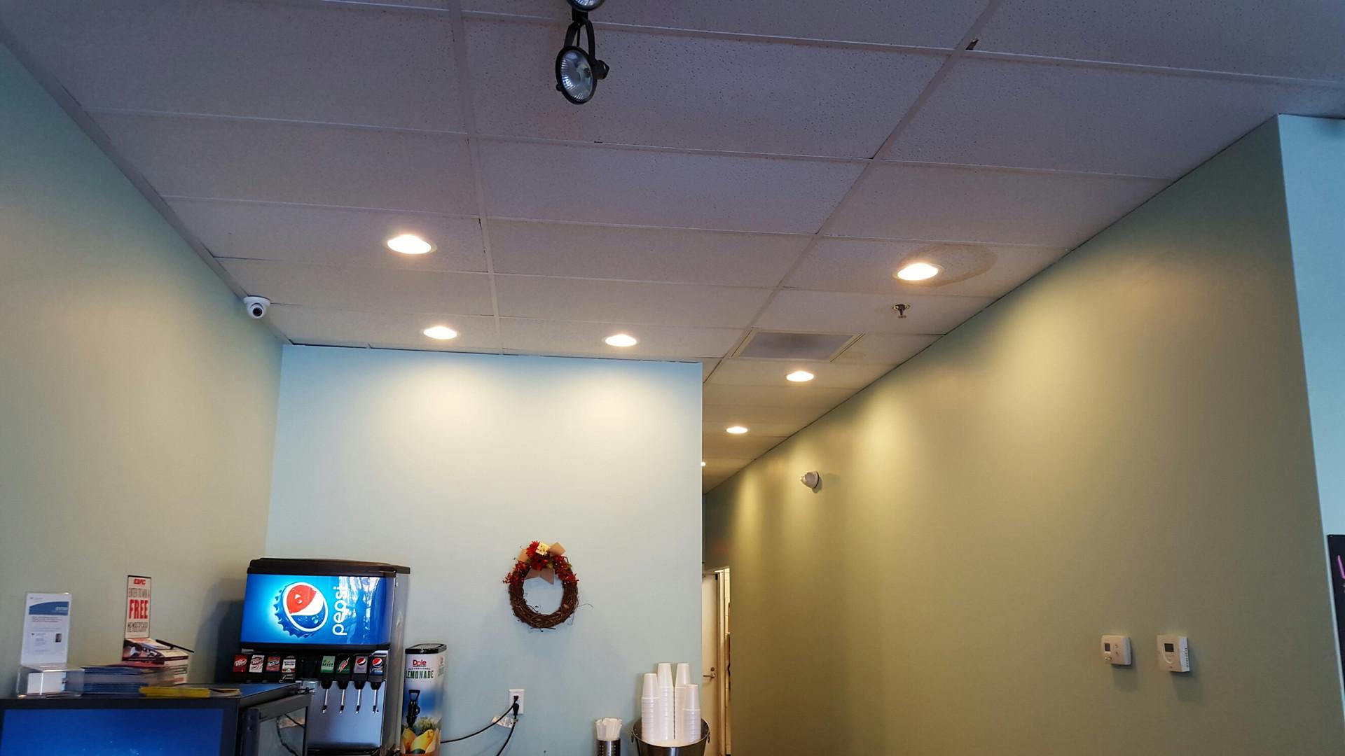 Ceiling View - Buildout Pros