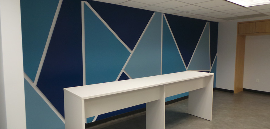 Wall of Meeting Area - Buildout Pros